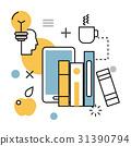 vector, education, science 31390794