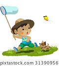 昆蟲採集 孩子 小孩 31390956