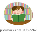 reading, boy, book 31392267