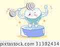 bodybuilder, cartoon, fitness 31392434