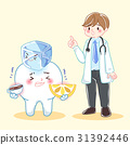 doctor with sensitive tooth problem 31392446