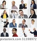 Collection of successful business people 31398972