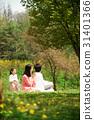가족, 공원, 한국인 31401366