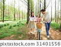 가족, 자전거, 한국인 31401556