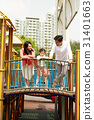 가족, 놀이터, 한국인 31401663