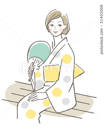 浴衣的女人 31403006