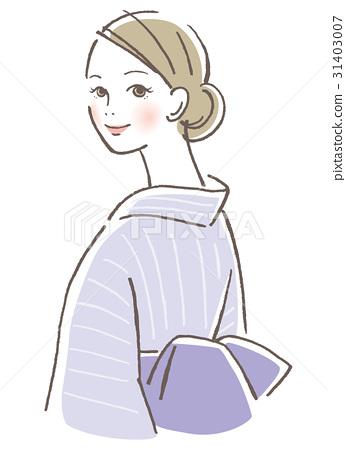 Yukata woman 31403007