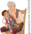 Mister Geppetto and Pinocchio 31403524