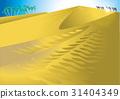 กองคาราวานในทะเลทราย 31404349