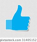 向上 大拇指 拇指 31405152