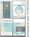 Business templates for brochure, magazine, flyer 31405402