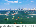 View of Pattaya pier and city 31406133
