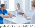meeting, doctor, radiologist 31406323
