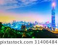 101, Taipei, cityscape 31406484