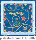 set, nautical, graphic 31407002