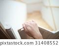 嬰兒門嬰兒圍欄樓梯(安全安全事故預防跌倒預防跌倒安全措施) 31408552