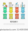 Recycling ecological concept 31409398