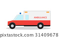 ambulance, emergency, flat 31409678