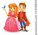 Beautiful princess and prince 31409850