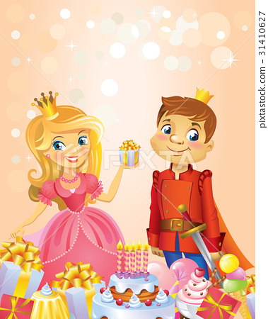 Happy Birthday, Princess and Prince, greeting card 31410627