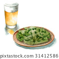 knob, beer, lager 31412586