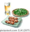 下酒菜 小菜 配菜 31412875