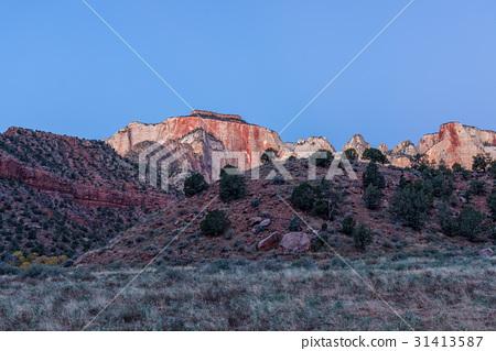 Zion Sunrise Landscape 31413587