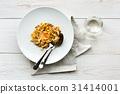 bacon, carbonara, italian 31414001