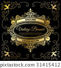 vintage, flyer, template 31415412