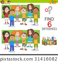 differences education game 31416082