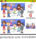 spot the differences with children 31416084