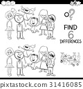 differences education coloring 31416085