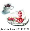 冷凍芝士蛋糕 甜點 甜品 31419179