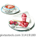 冷凍芝士蛋糕 甜點 甜品 31419180