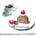 瑞士卷 果凍卷 夾心蛋糕 31419667
