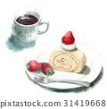 瑞士卷 果凍卷 夾心蛋糕 31419668