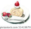瑞士卷 果凍卷 夾心蛋糕 31419670