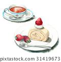 瑞士卷 果凍卷 夾心蛋糕 31419673