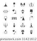 Light flat icons 31421612