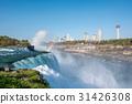Niagara Falls waterfall with rainbow 31426308