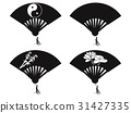 Chinese fan icons 31427335