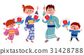 yukata, family, summer 31428788