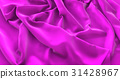 Purple Flag Ruffled Beautifully Waving 31428967