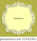Card template for cutting out paper. 31432901