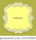 card, template, invitation 31432904