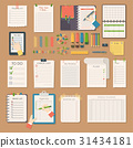 Open notebooks clean pages diary template booklet 31434181