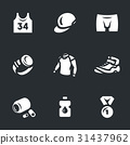 Vector Set of Sport Icons. 31437962
