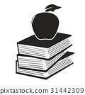 apple on the books 31442309