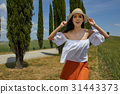 girl, holiday, tuscany 31443373