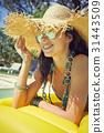 mattress, sunbathing, sun 31443509